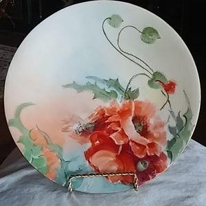 Stunning Handpainted Limoges Plate, nice!